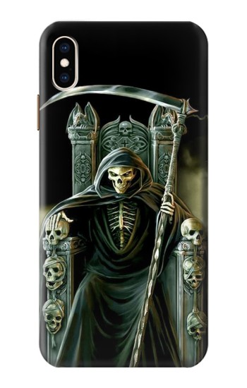 Details About S1024 Grim Reaper Skeleton King Case For Iphone Samsung Smartphone Etc